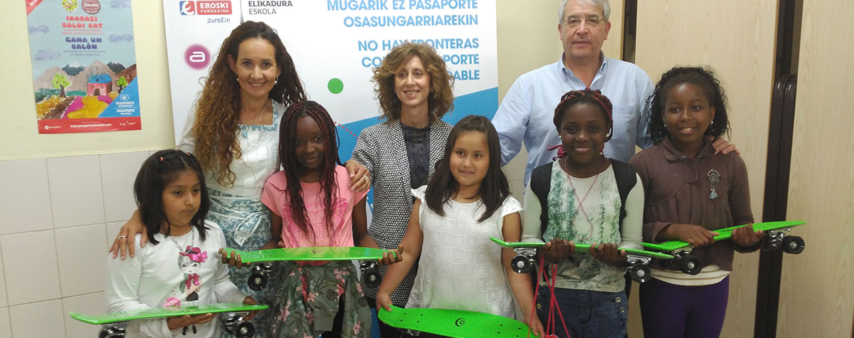 Pasaporte Saludable Escuela de Alimentación Fundación Eroski