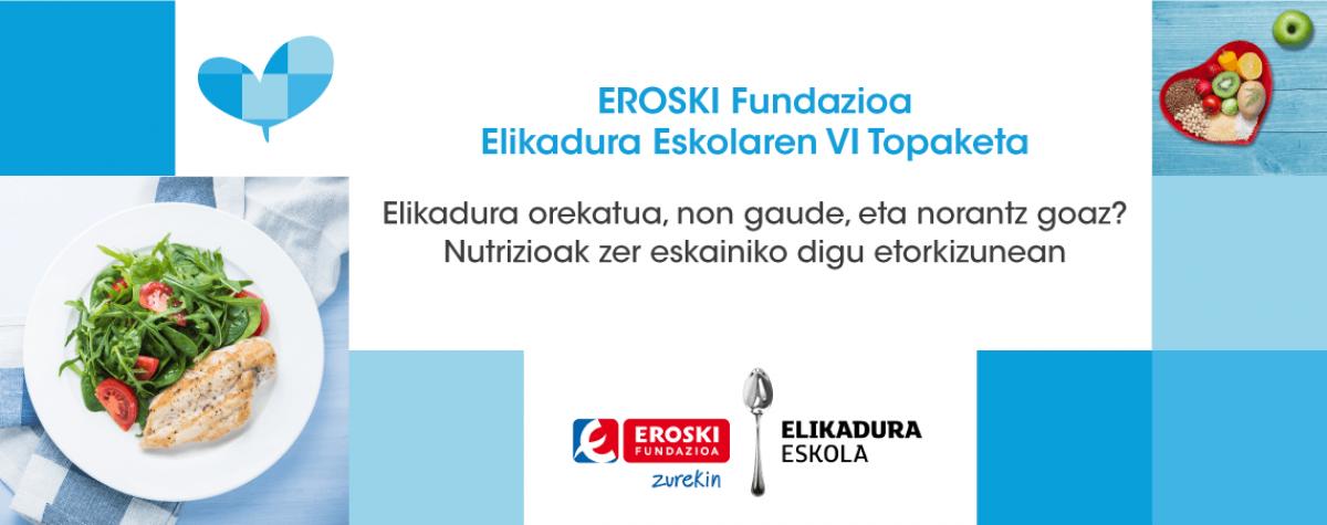 EROSKI FUNDAZIOA ELIKADURA ESKOLAren VI. TOPAKETA